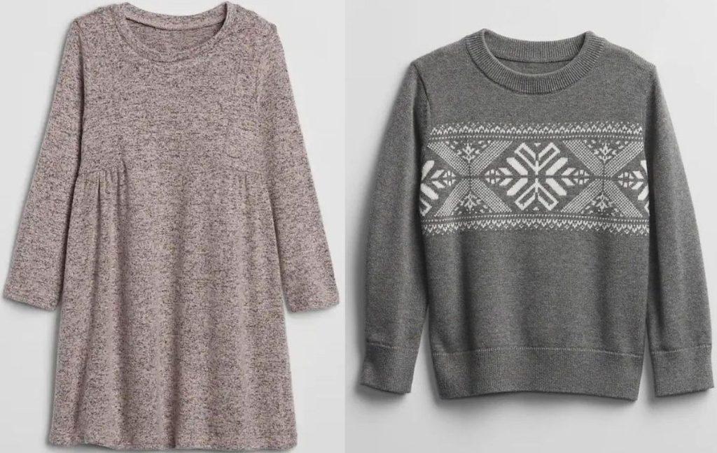Gap Factory Kids Dress and Sweater