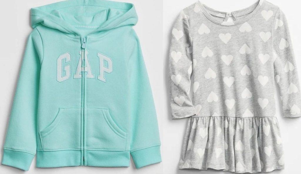 Gap Factory Kids Hoodie and Baby Dress
