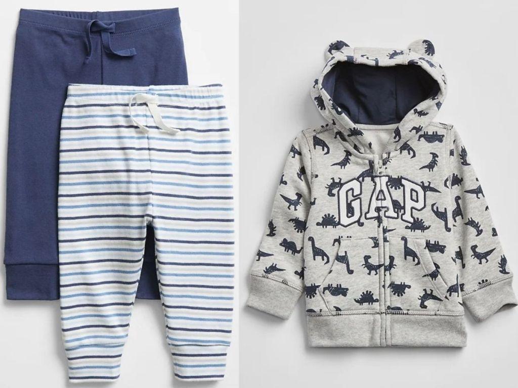 Gap Factory Pants and Hoodie