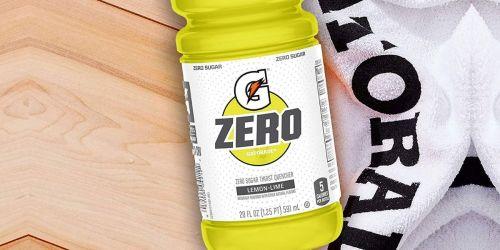 Gatorade Zero 20-Ounce Lemon-Lime 12-pack Only $6.94 Shipped on Amazon (Regularly $12)