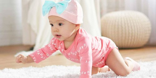 Up to 80% Off Gerber Apparel & Accessories   Bodysuits from 85¢ Each, Leggings from $3.40 Each!