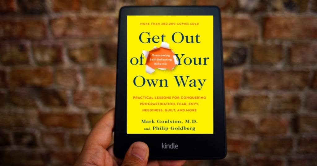Get out of your own way ebook on kindle
