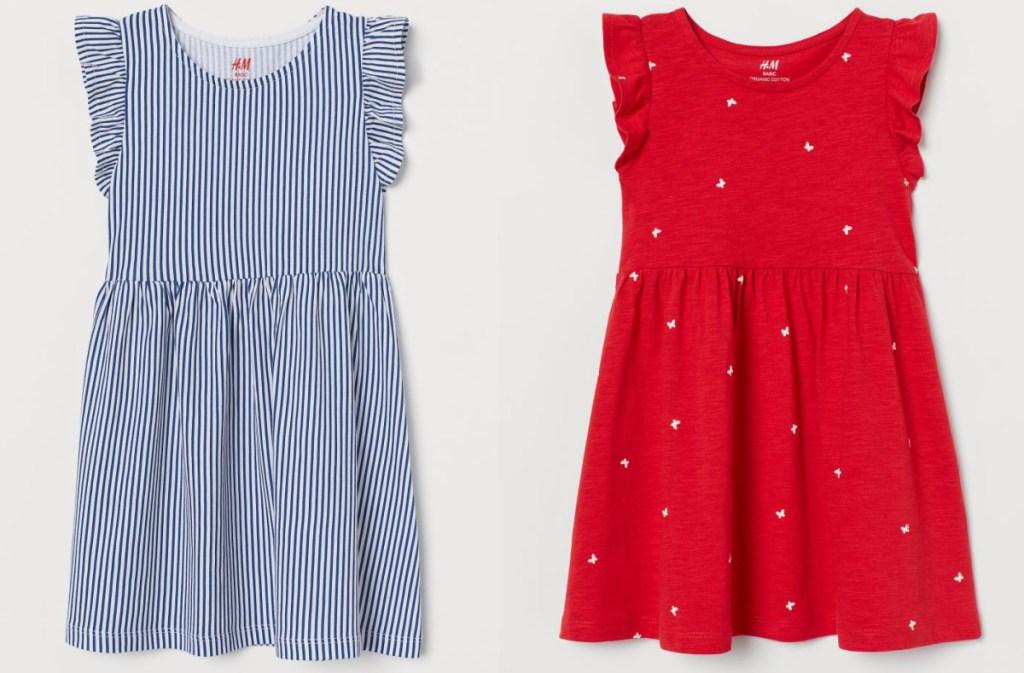 2 H&M jersey dresses