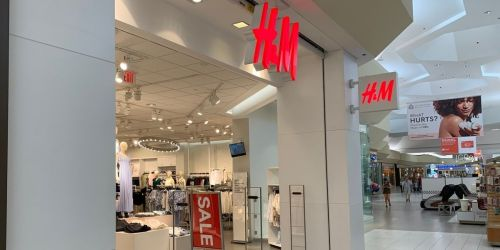 Up to 50% Off H&M Men's & Women's Apparel