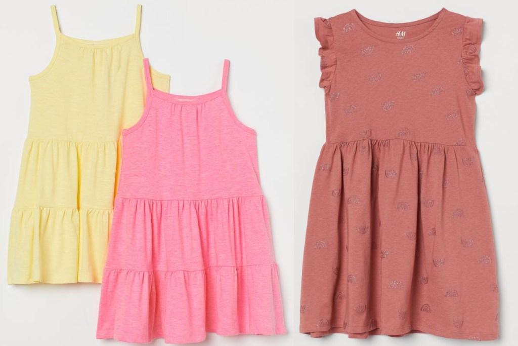 HM girls dresses
