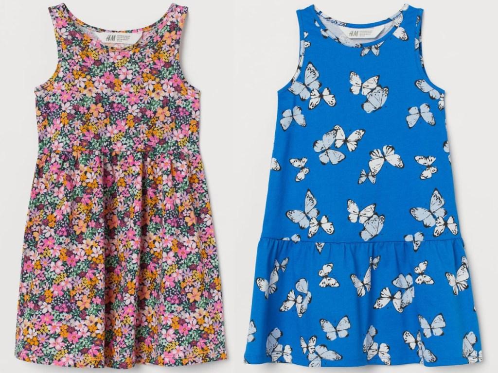 2 HM girls tank dress