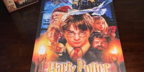 Harry Potter Jigsaw Puzzles from $7.49 on Amazon or Target.com