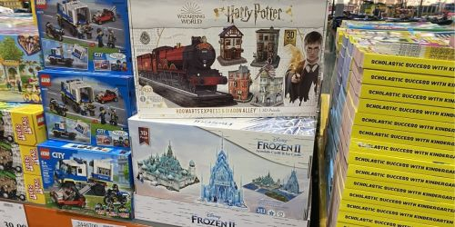 4DPuzz Harry Potter or Frozen 3D Puzzle Sets Only $14.97 at Costco (Regularly $50+)