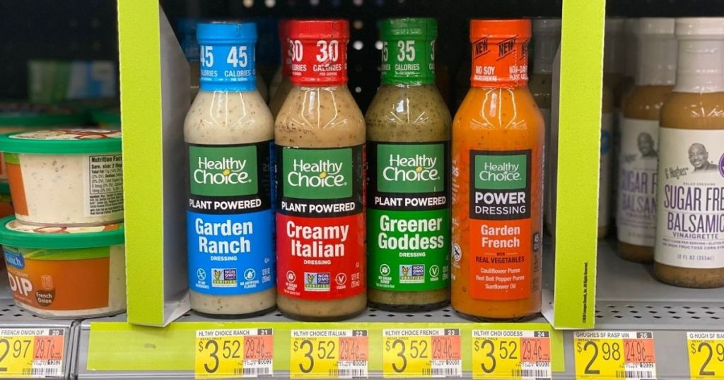 Healthy Choice Plant Powered Dressing
