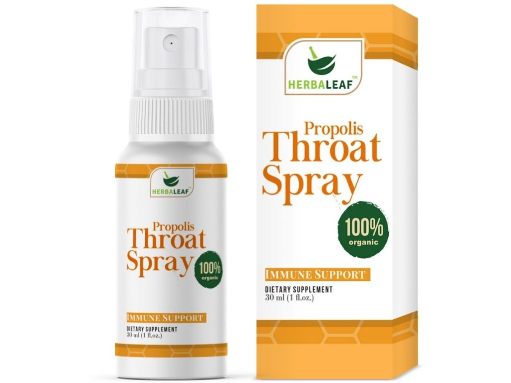 Herbaleaf Propolis Throat Spray