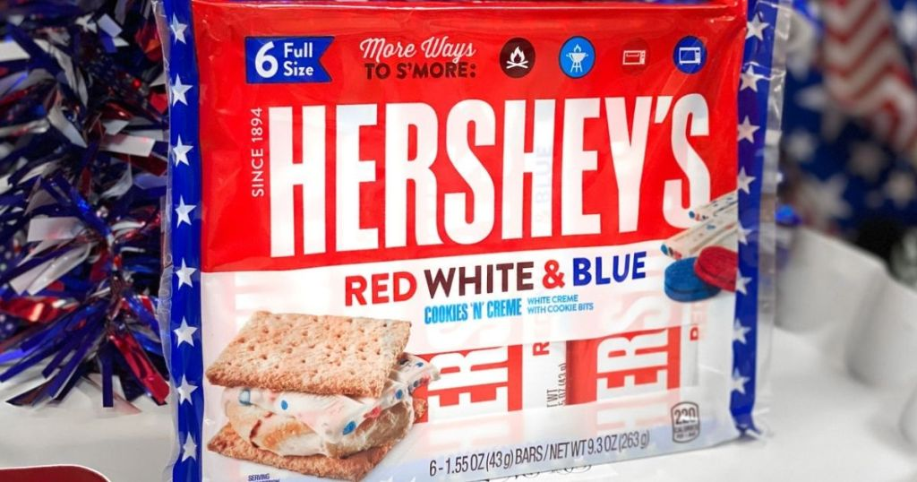 Hershey's Red White and Blue Cookies n' Cream