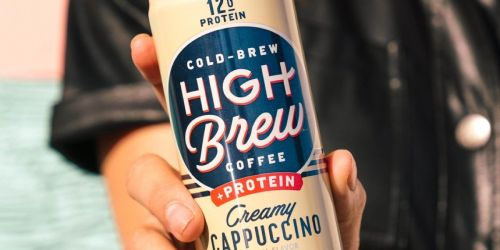 High Brew Cold-Brew Coffee + Protein 12-Pack Only $13 Shipped on Amazon