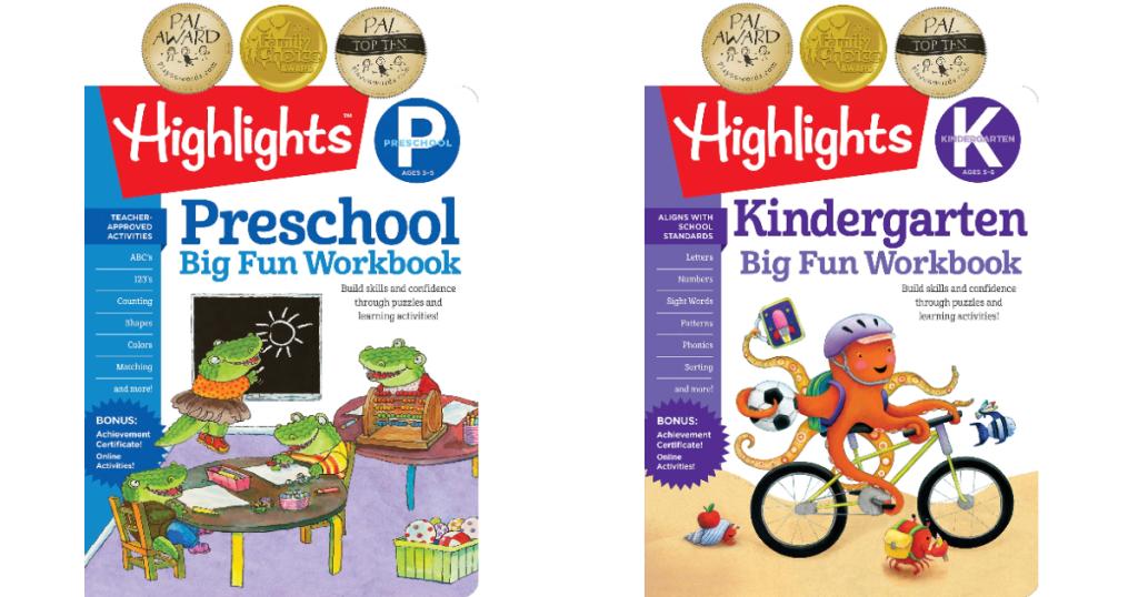Highlights workbooks