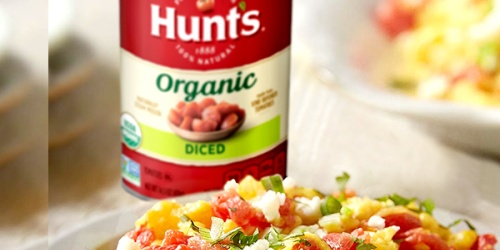Hunt's Organic Diced Tomatoes 14.5oz Cans 12-Pack Just $9.86 on Amazon