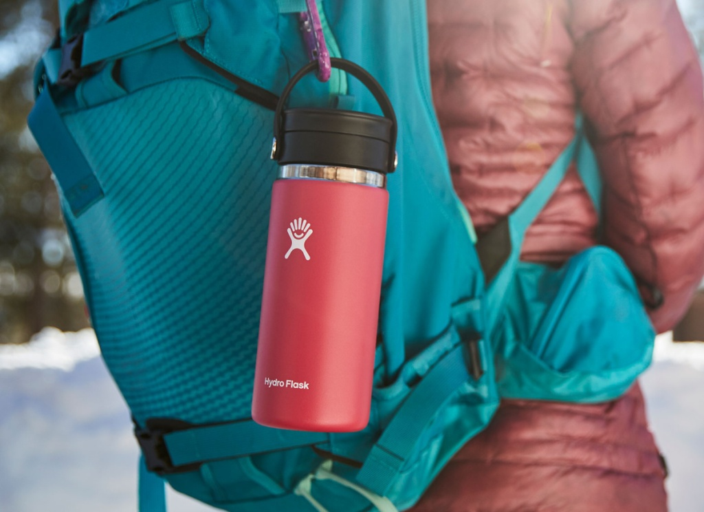 watermelon wide mouth hydro flask