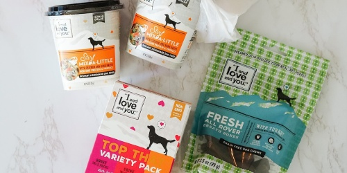 I and Love and You Dental Bones Dog Treats Only $2.84 Shipped on Amazon (Regularly $6)