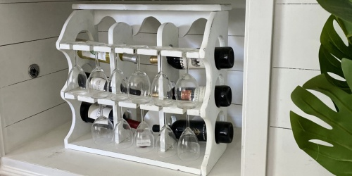 It's Wine O'Clock! Try These 7 Easy & Cheap DIY Wine Rack Ideas