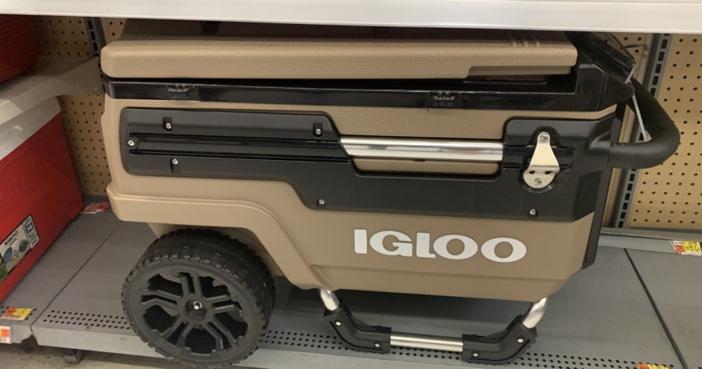 large pull behind igloo cooler