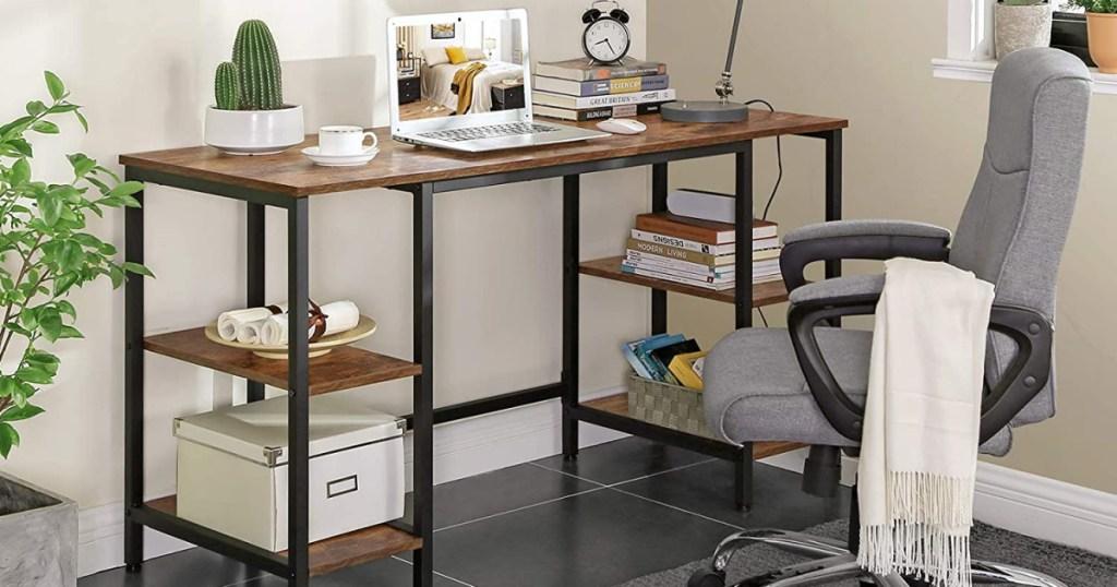 Industrial Computer Desk in office