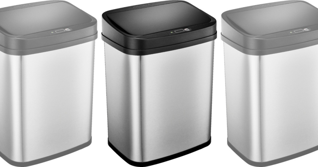 3 insignia automated trash cans