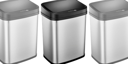 Stainless Steel Automatic Trash Can Only $19.99 on BestBuy.com (Regularly $40)