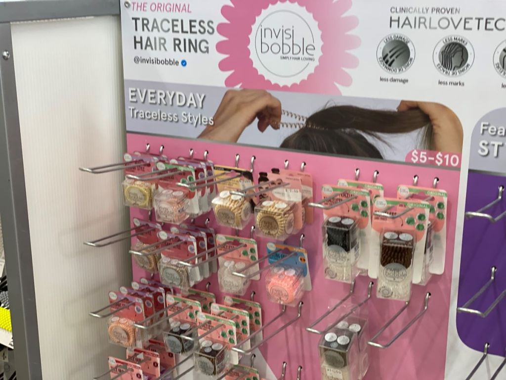 Invisibobble hair ties