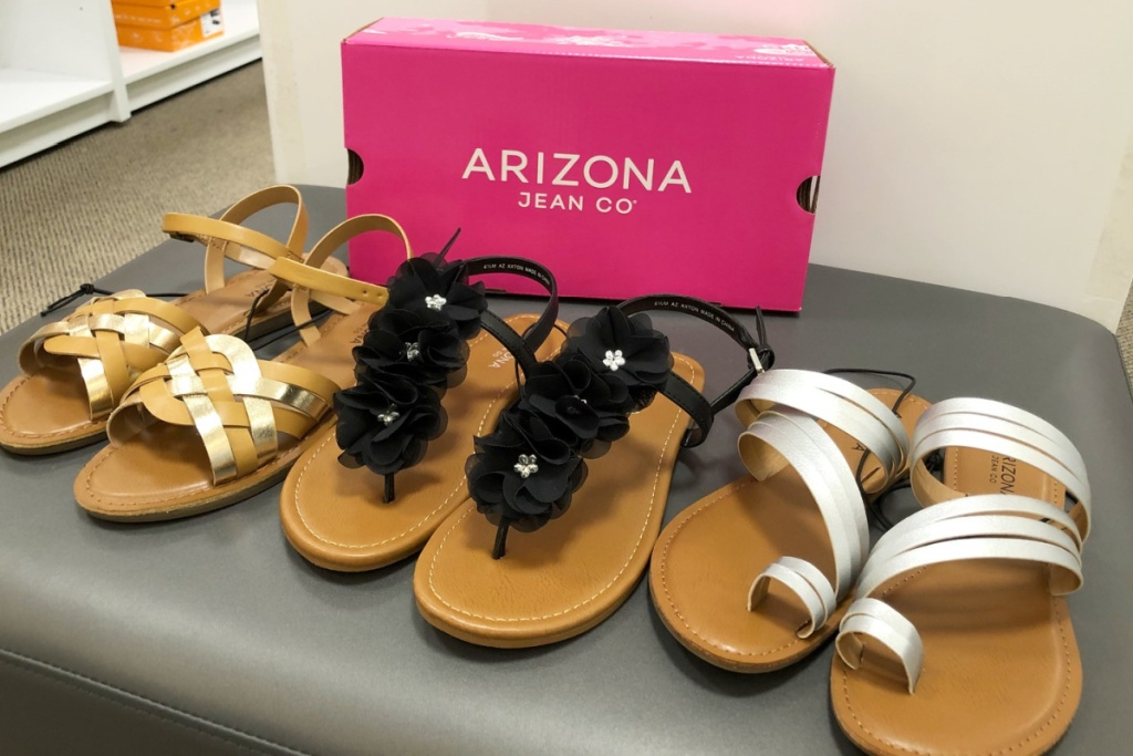 JCP women's shoes in store