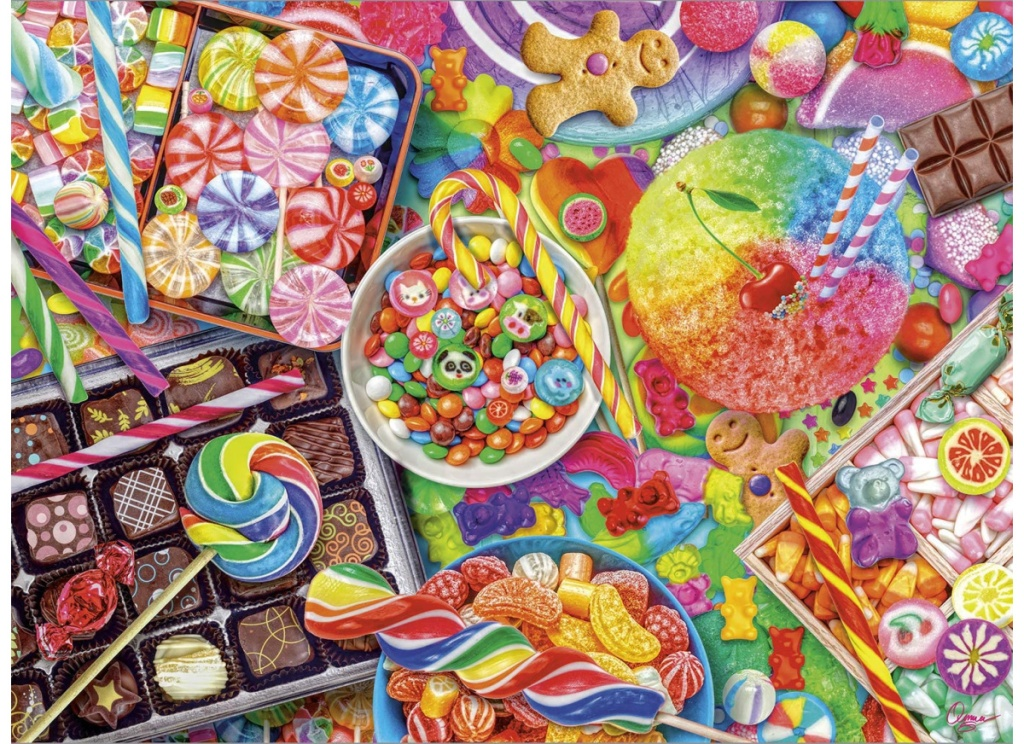 candylicious jigsaw puzzle