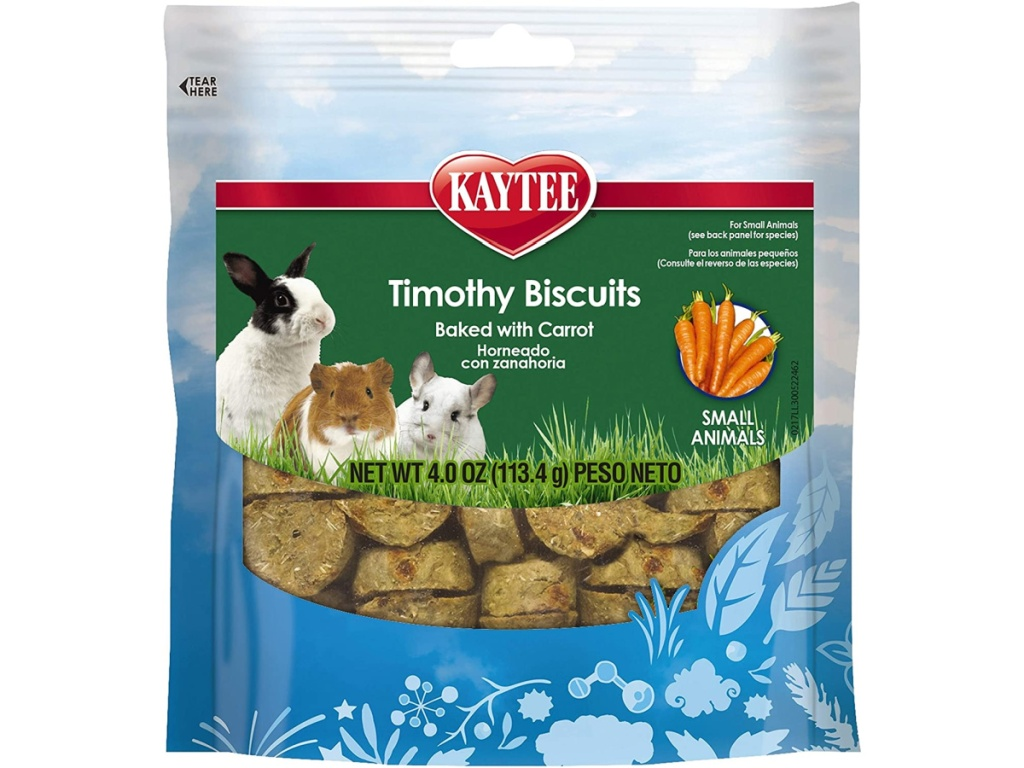 bag of timothy biscuits for pets
