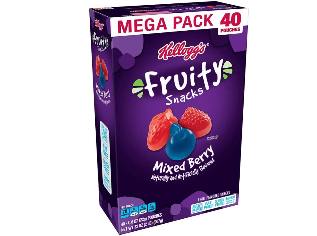 Kellogg's brand fruit snacks in large pack