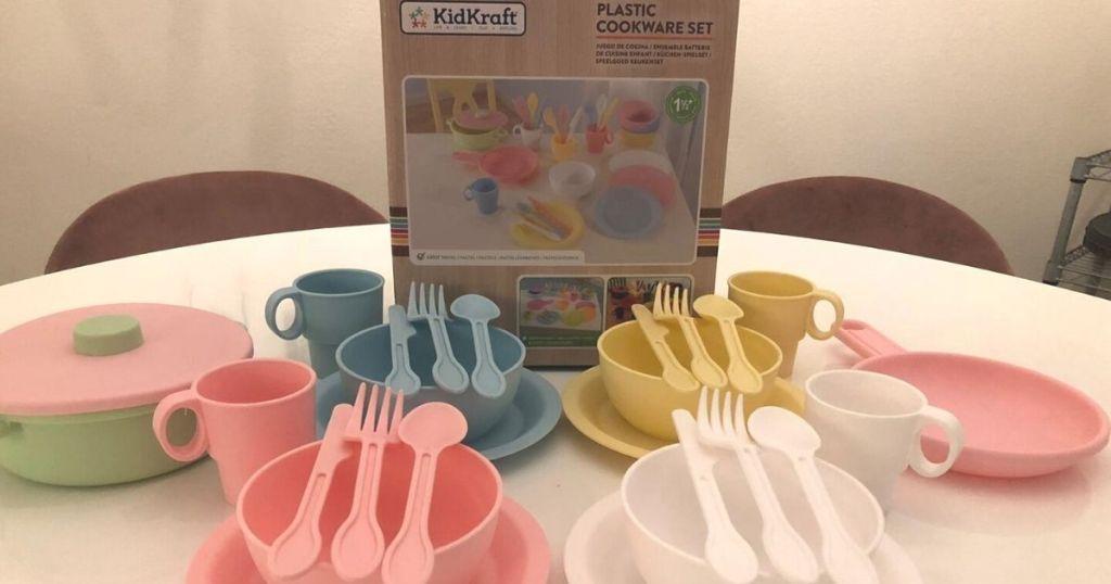 Kidkraft Plastic Cookware Set
