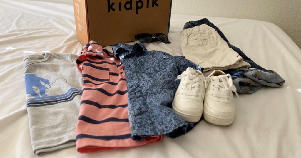 large selection of kids clothing