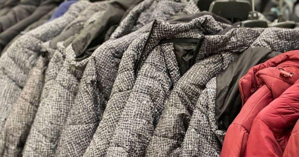 kids jackets on hangers