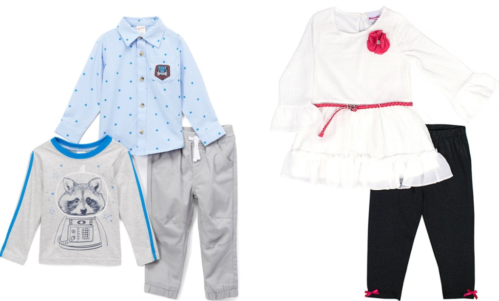 two kids outfit sets