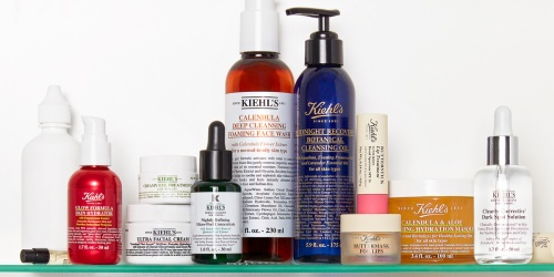 Buy 1, Get 1 FREE Kiehl's Facial & Body Cleansers + Free Shipping