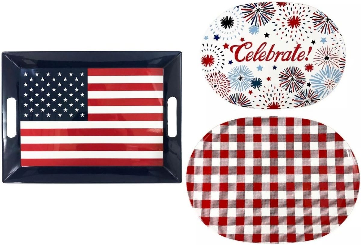 Loh's Americana Trays and Serving Platters