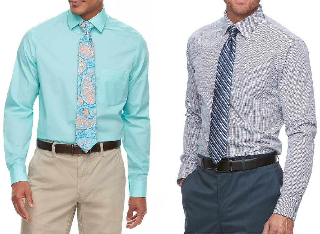 two men wearing dress shirts
