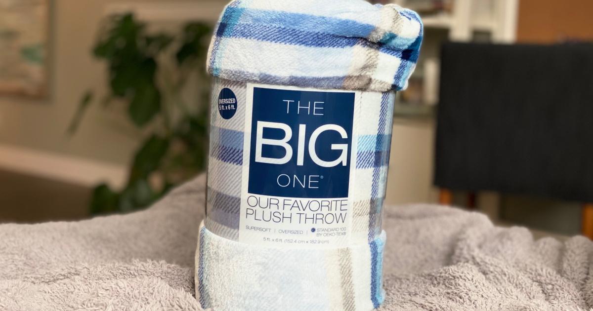 The Big One brand plush blanket