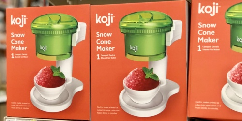 Koji Electric Snow Cone Maker Only $29.99 on Target.com