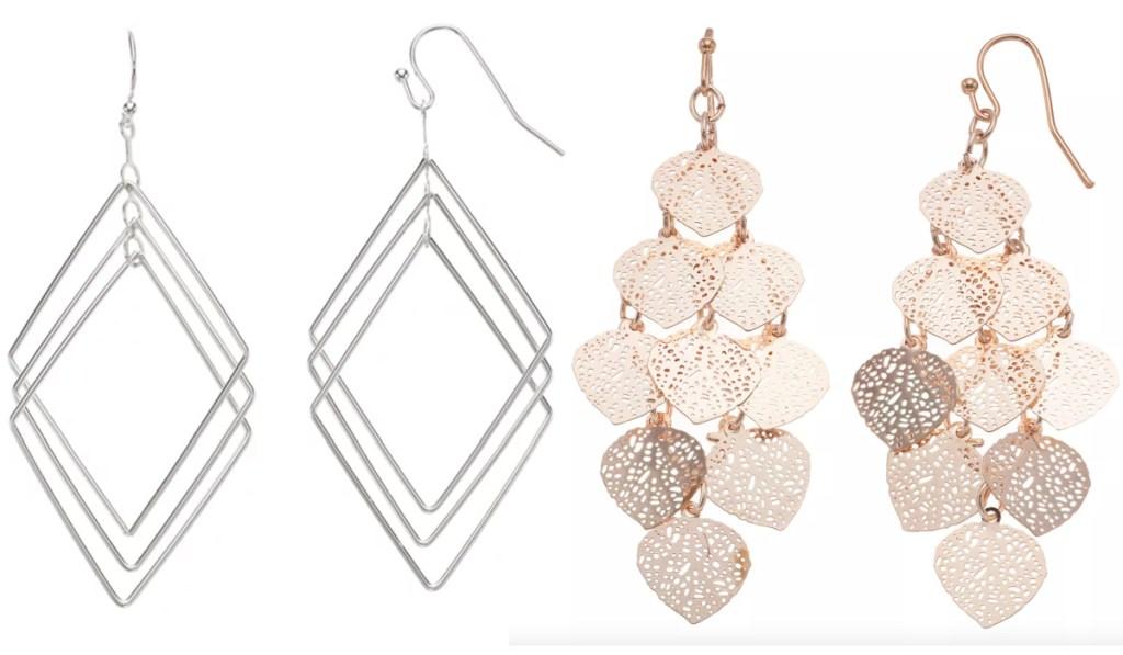 LC earrings