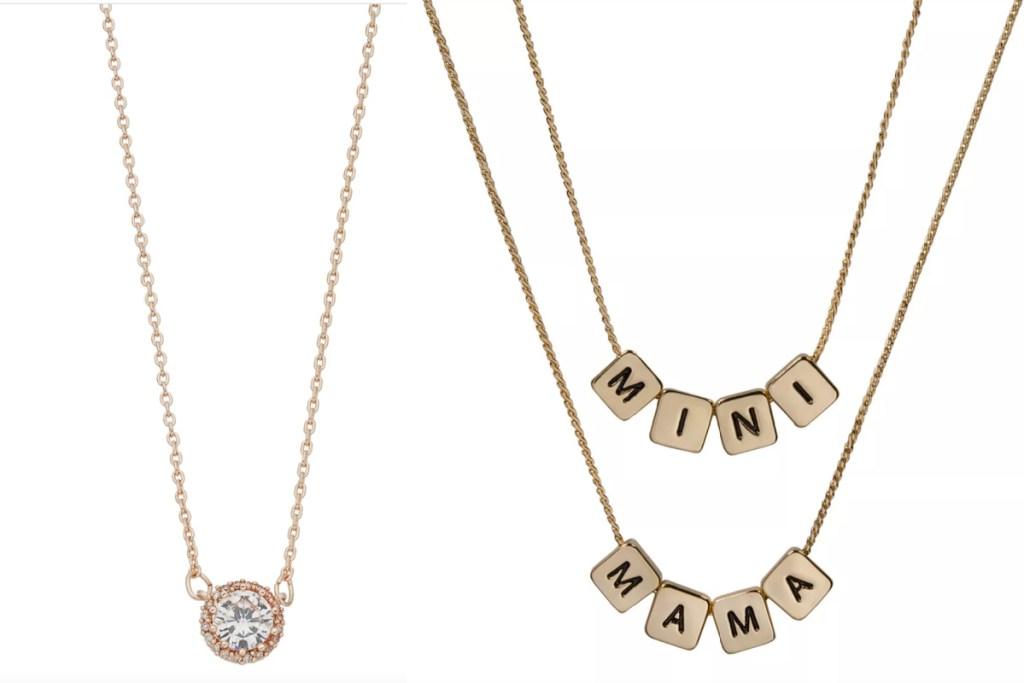 LC necklaces