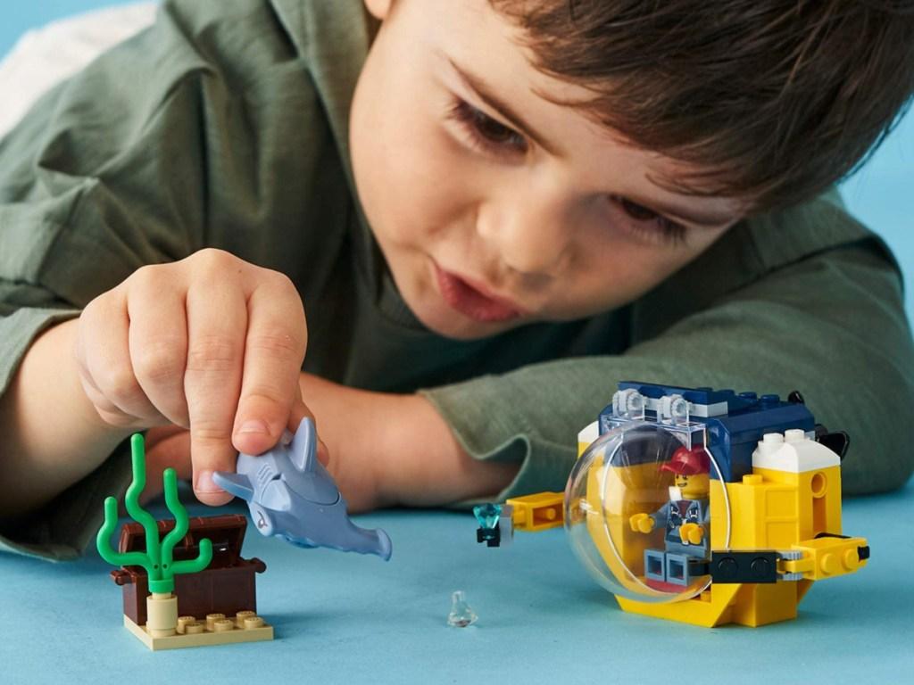 lego submarine building set