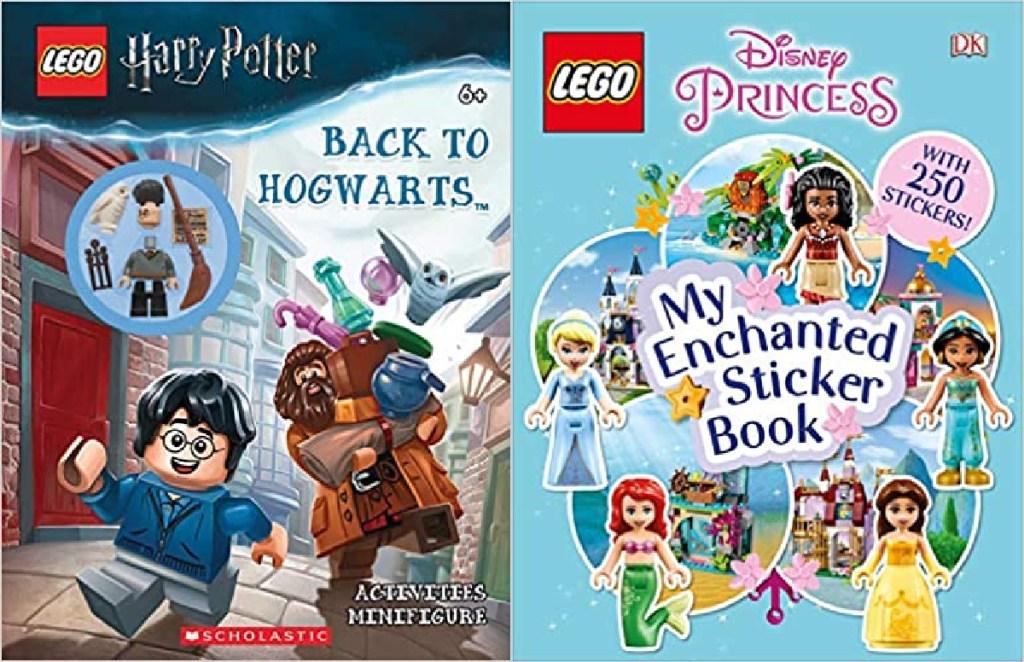 LEGO Harry Potter and Disney Princess My Enchanted Sticker Book