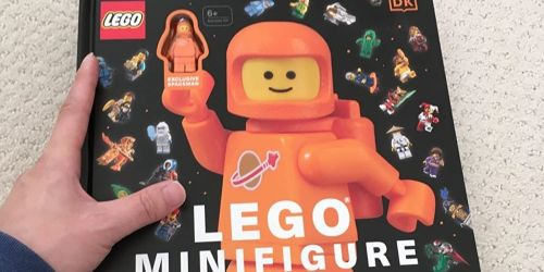 LEGO Minifigure Visual History Book w/ Minifigure Only $26 Shipped on Amazon