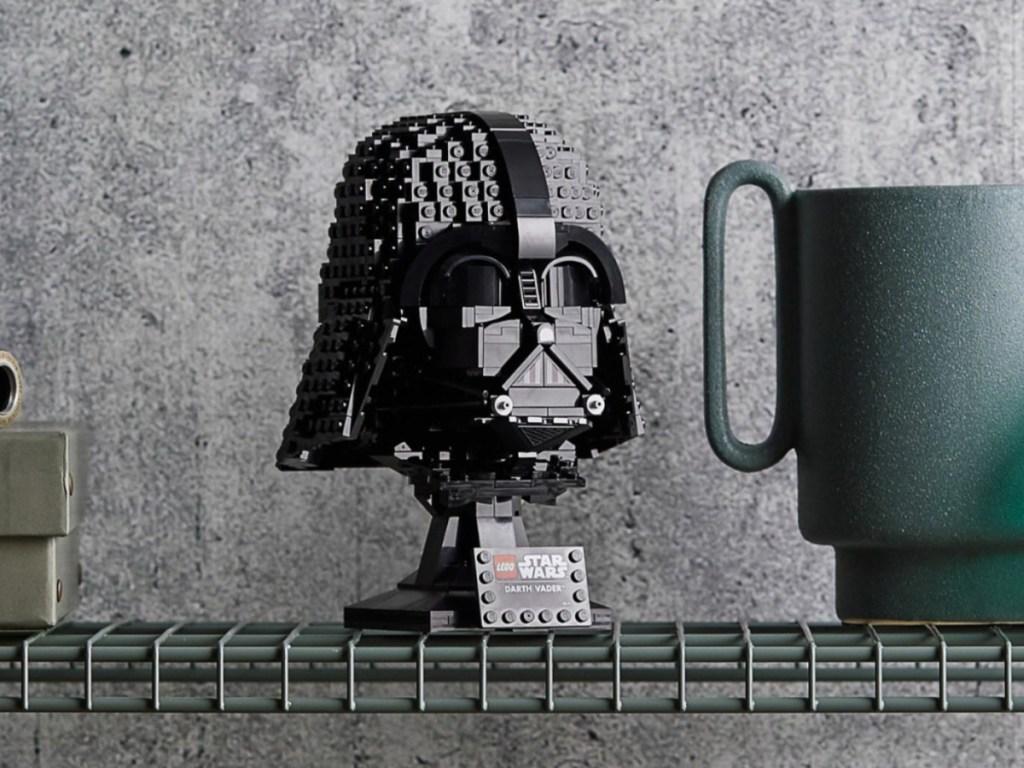 darth vader lego star wars helmet