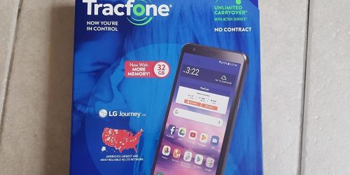 LG Smartphone w/ 1-Year Tracfone Service from $29.99 Shipped on HSN | Includes 1500 Minutes, Text & Data