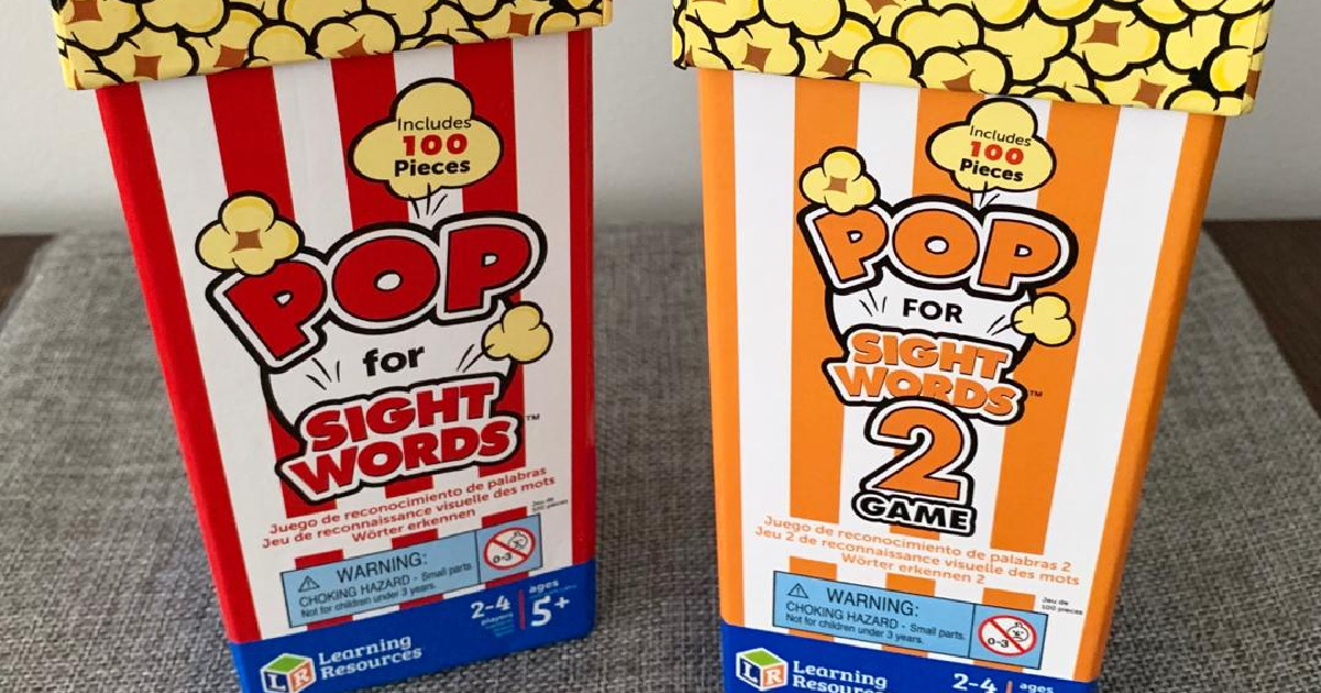 popcorn themed educational game