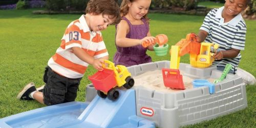 Little Tikes Big Digger Sandbox w/ Lid + SEVEN Accessories Only $39.98 Shipped