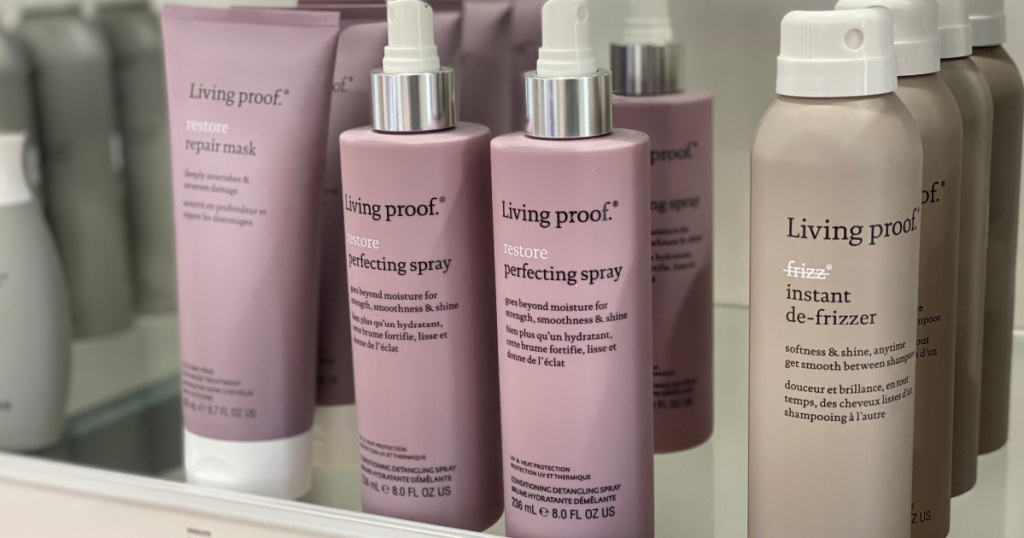 living proof hair care products