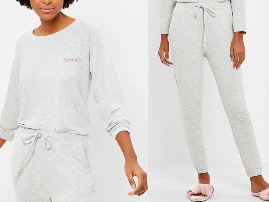 Loft Pajama Top and Pants